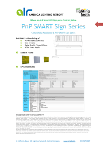 Where an ALR Smart LED Sign goes, Controls follow. PnP
