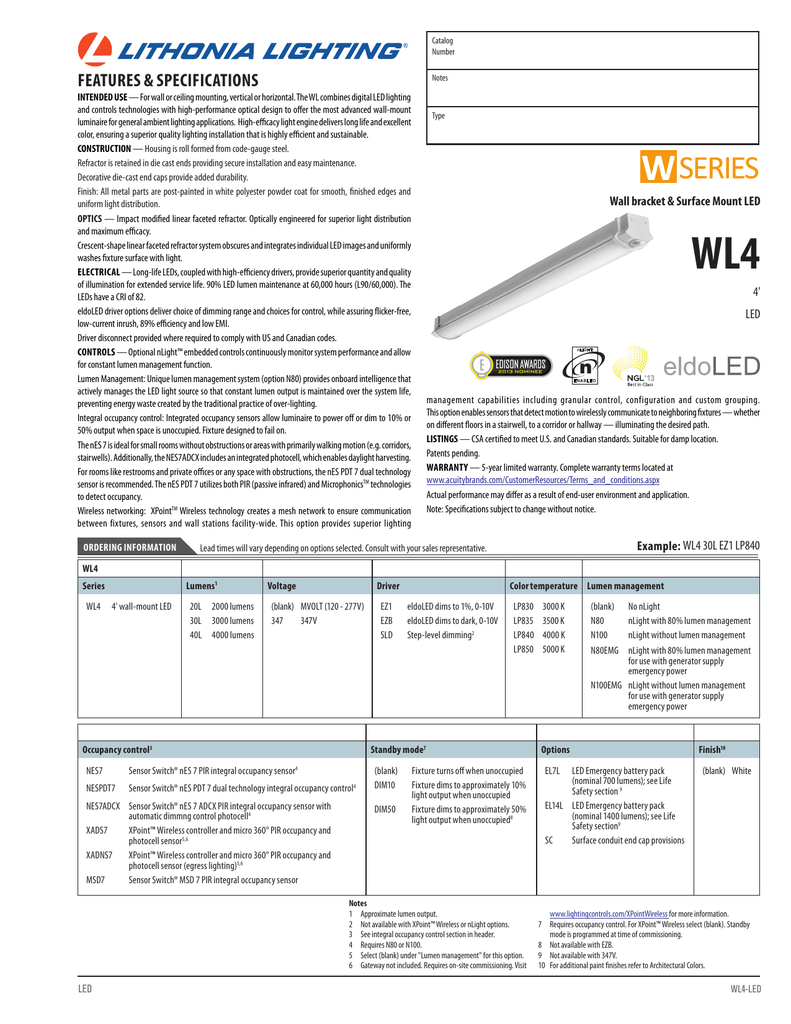 Nlight Lithonia Lighting Wiring Diagram. . Wiring Diagram on