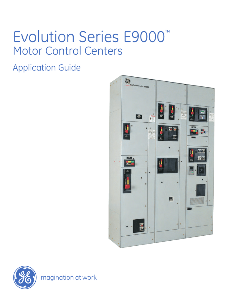 A Evolution Series E9000 Motor Control Centers Line Connected Wiring Diagram With Bypass And External Overload