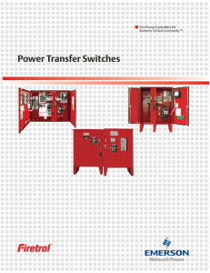 Power Transfer Switches - Puerto Rico Suppliers .com