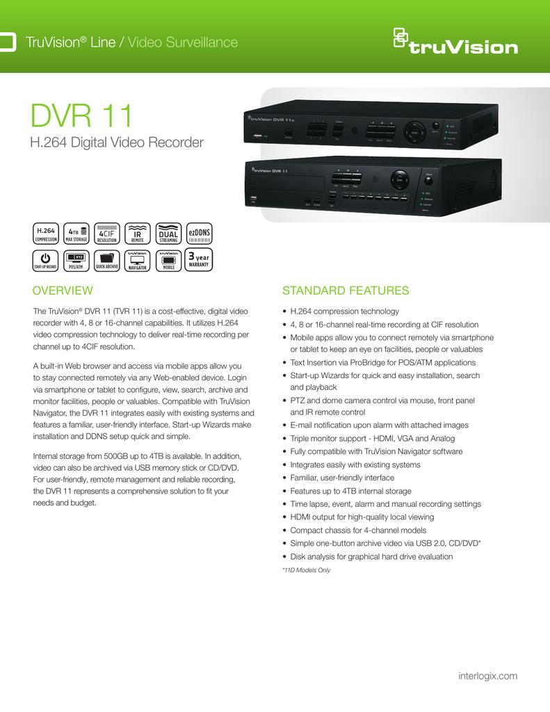 DVR 11 - Interlogix