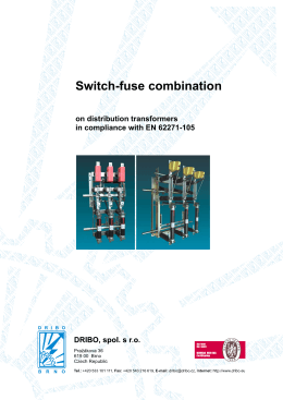 Switch-fuse combination