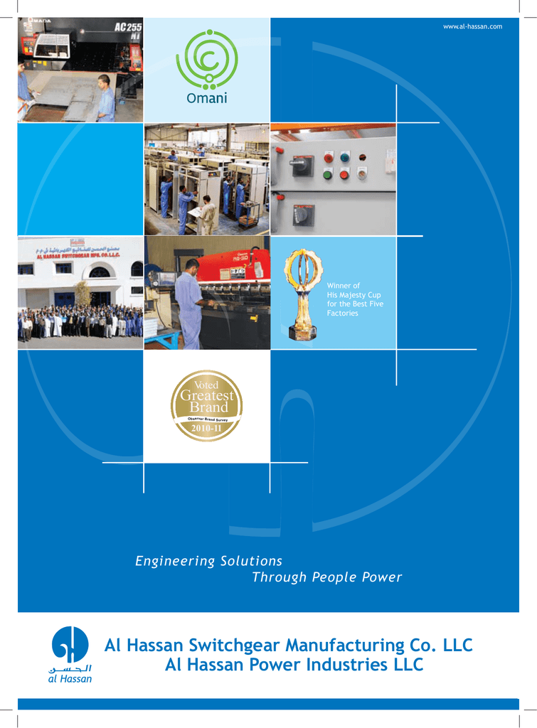 Al Hassan Switchgear Manufacturing Co  LLC Al Hassan Power