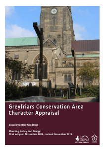 Greyfriars Conservation Area Character Appraisal