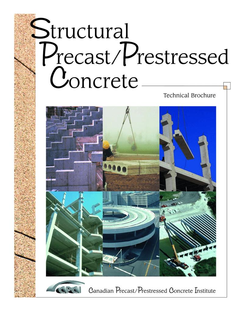 Structural Precast/Prestressed Concrete