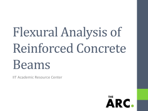 Flexural Analysis of Reinforced Concrete Beams