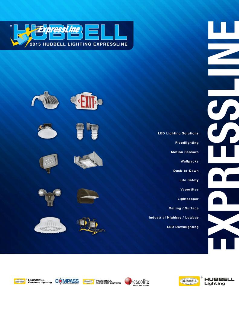 2017 Hubbell Lighting Expressline