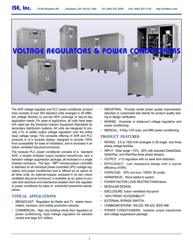 Voltage Regulators And Power Conditioners High Bucking Regulator Circuit Diagram Electronic