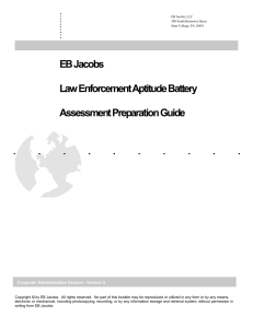 LEAB Assessment Preparation Guide