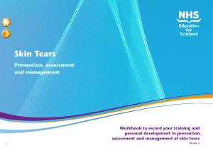 Skin Tears - NHS Education for Scotland