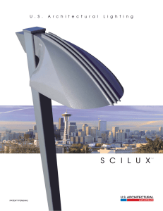 Scilux Series Brochure - U.S. Architectural Lighting