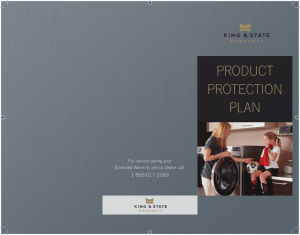 Product Protection Plan