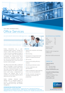 Office Services - Colliers International