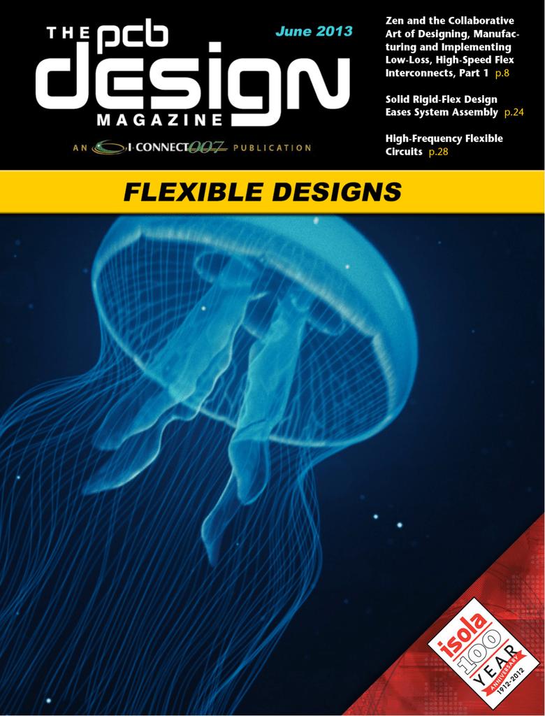 The Pcb Design Magazine June 2013 Laminate Rigid High Tg Low Cte Circuit Board Maker From China