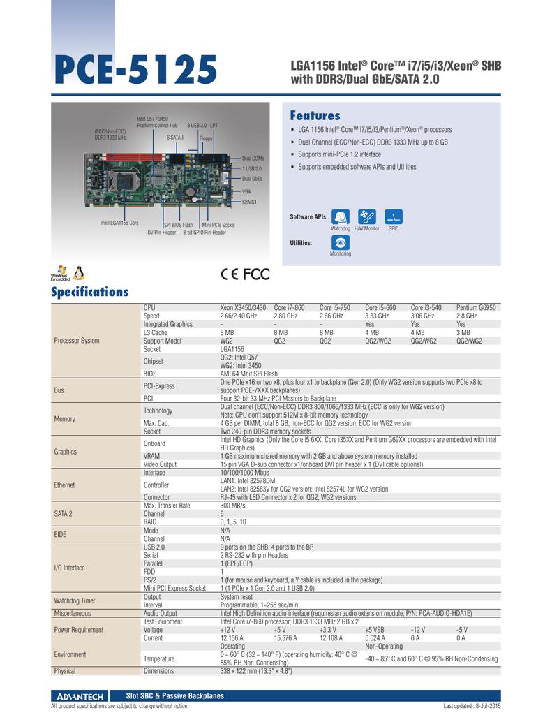 Datasheet - Advantech