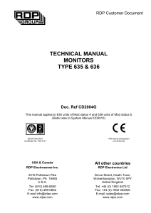 635/636 technical manual