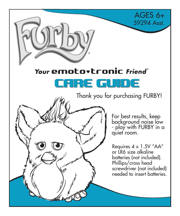 Furby Care Guide