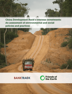 China Development Bank`s overseas investments