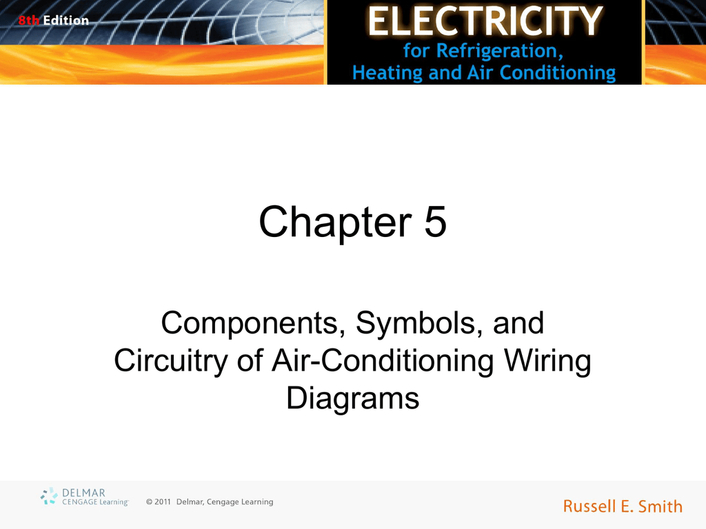 chapter 5 components, symbols, and circuitry of air-conditioning wiring  diagrams objectives • upon completion of this course, you will be able to:  – explain