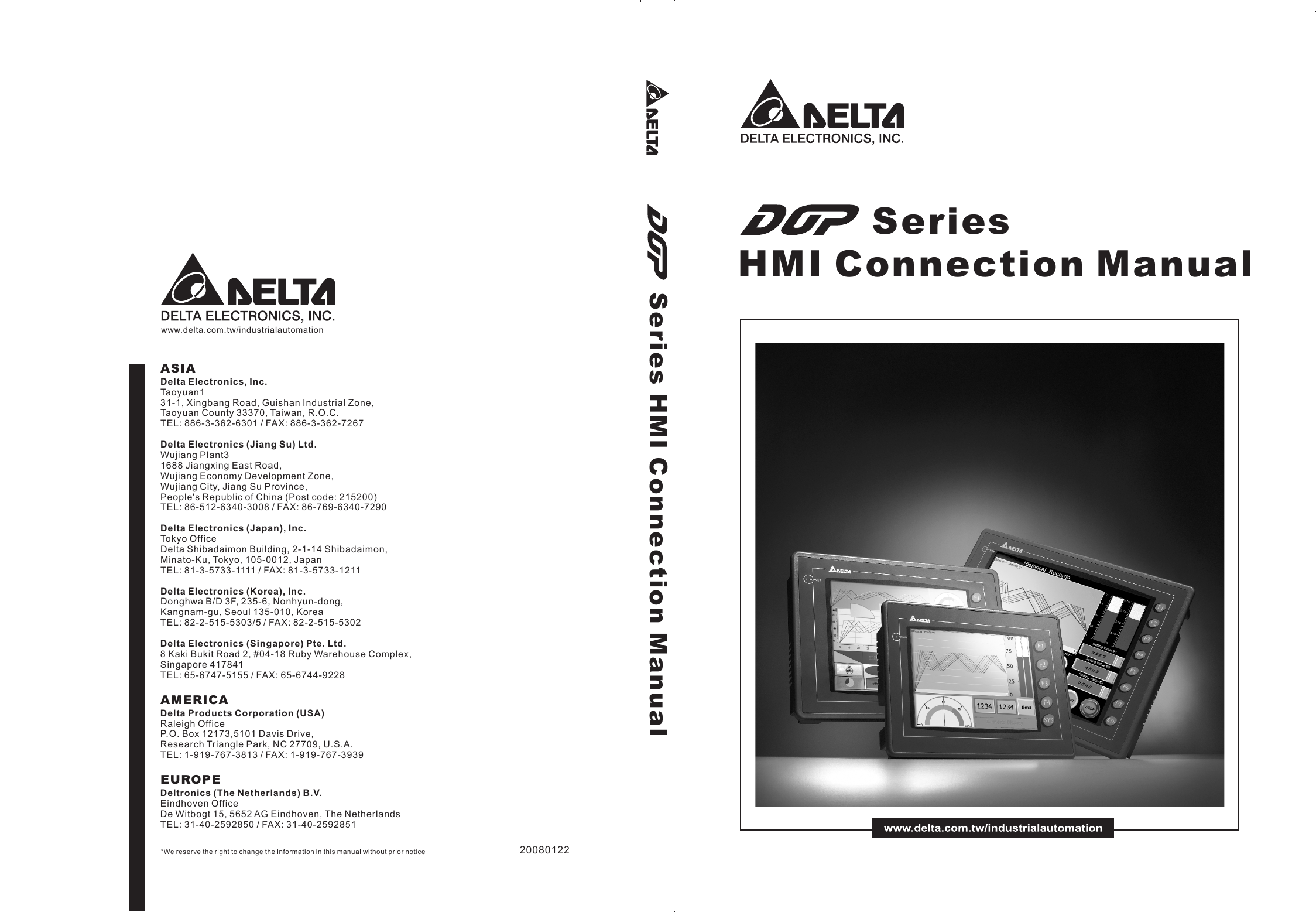 DOP Series HMI Connection Manual