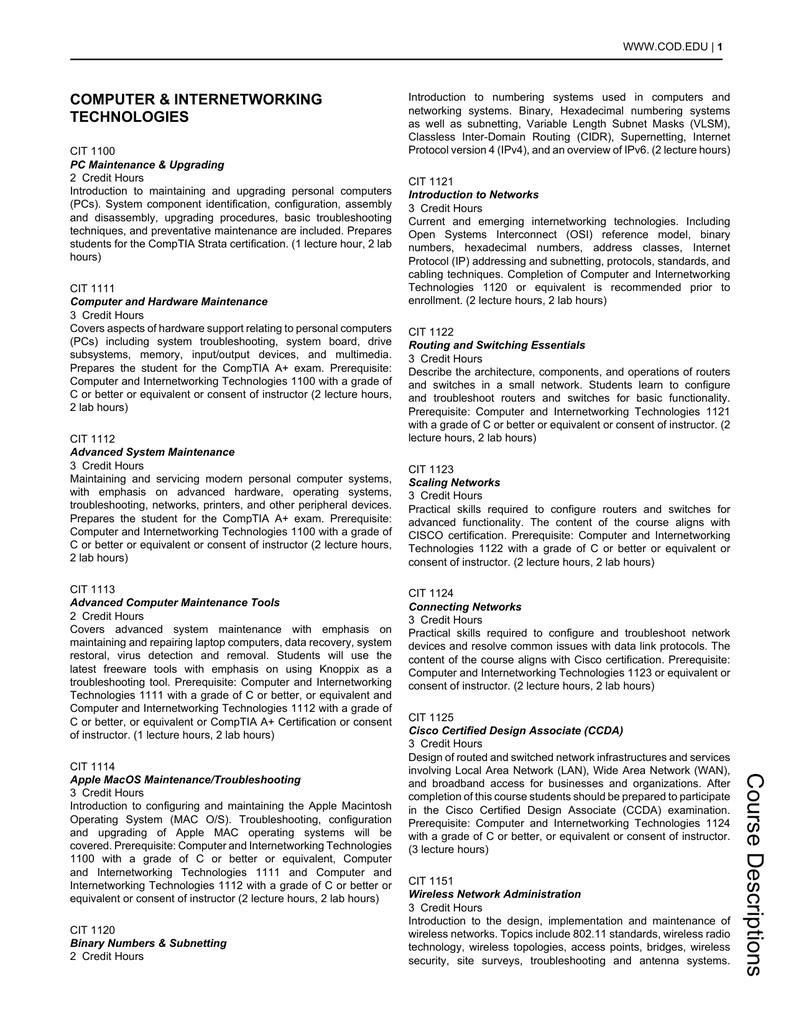 View/Print PDF - College of DuPage