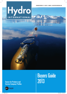 Buyers Guide 2013 - Geomares Publishing