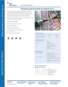 Wire and Harness ID Products
