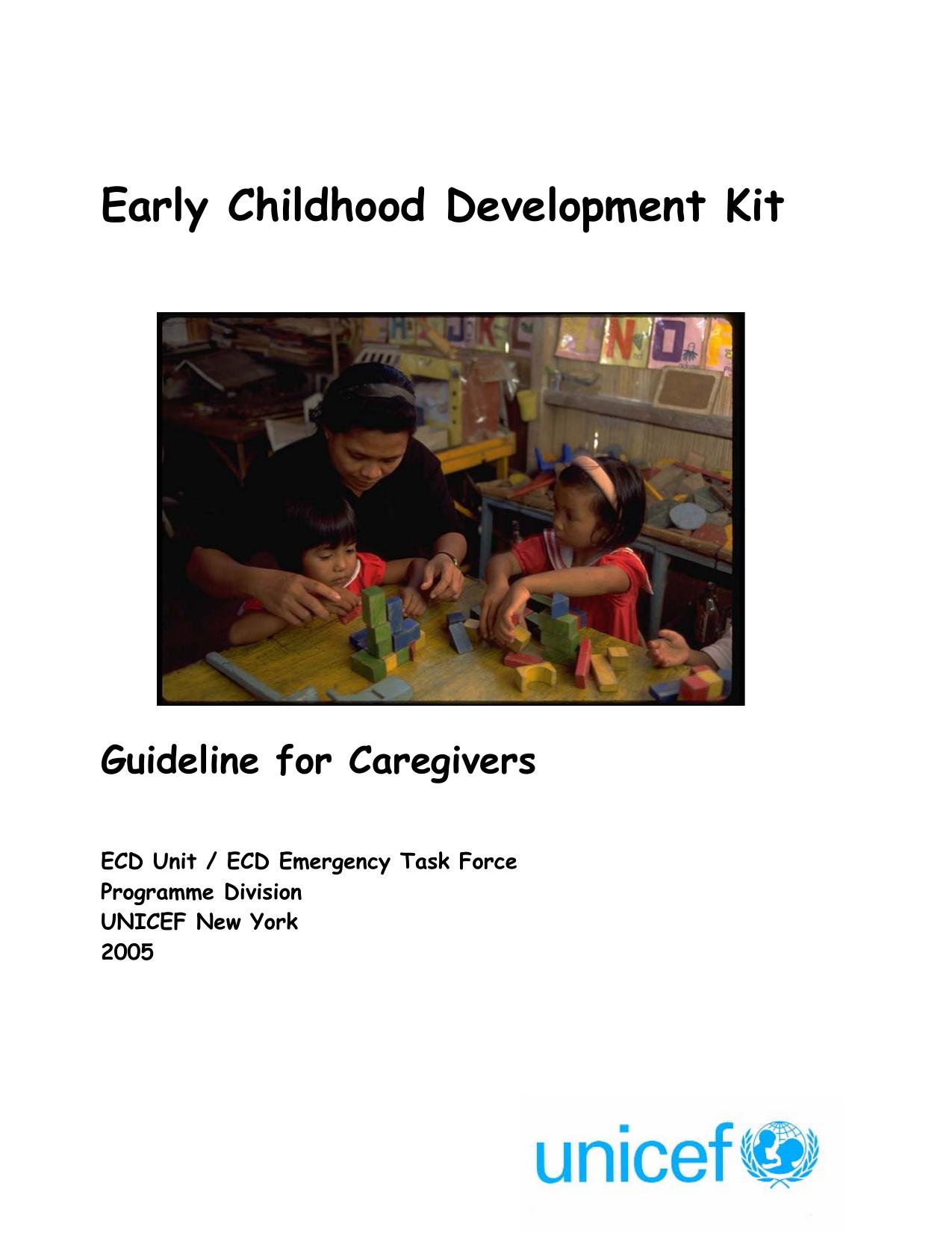 Early childhood development kit sciox Choice Image