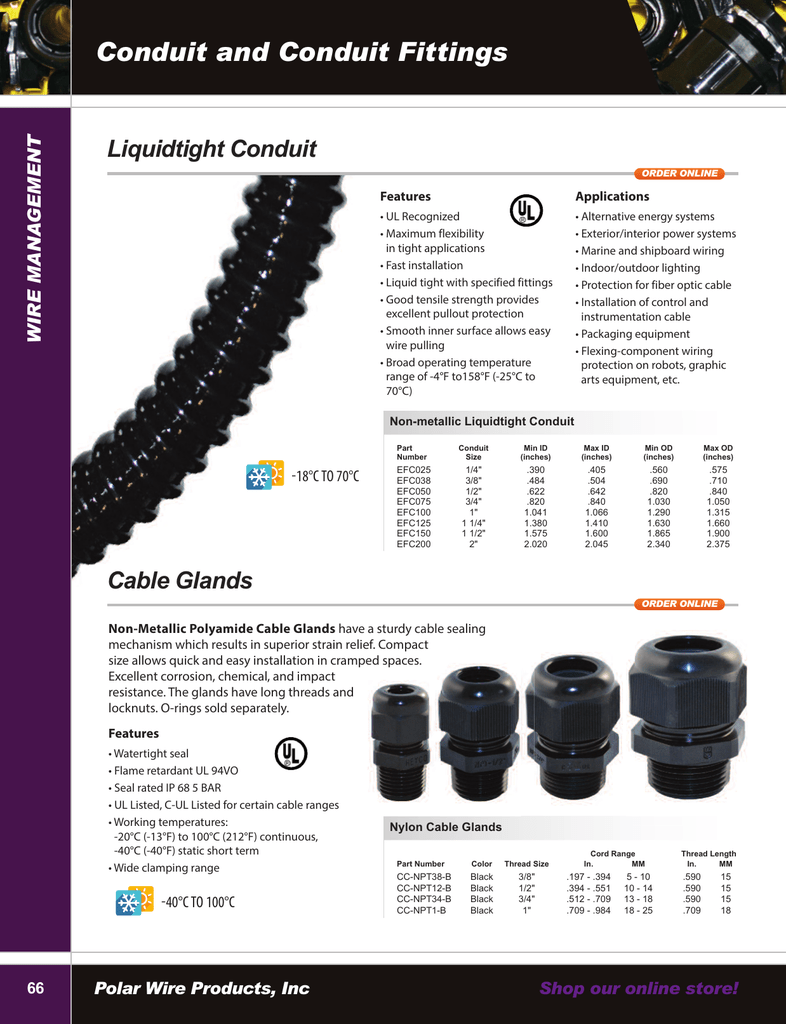 Stupendous Polar Wire Catalog Liquidtight Conduit Fittings And Cable Glands Wiring 101 Mecadwellnesstrialsorg