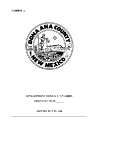 section 1 - Doña Ana County