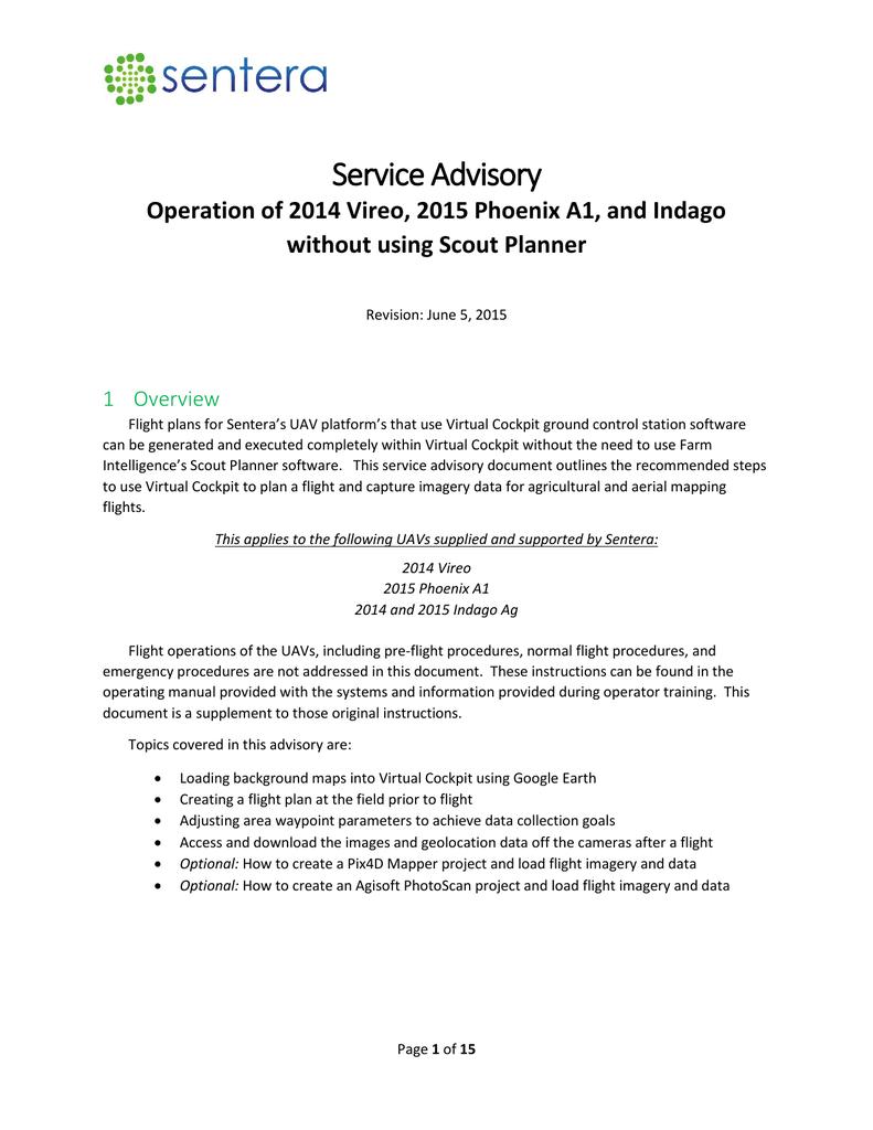 Service Advisory