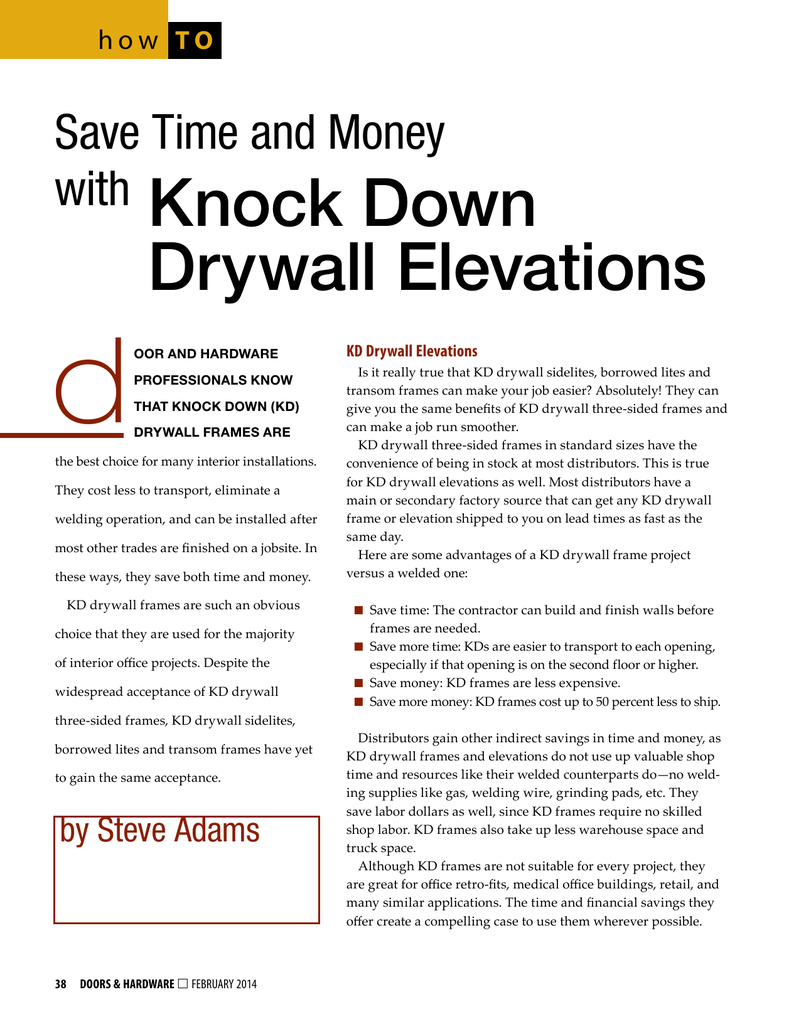 with Knock Down Drywall Elevations