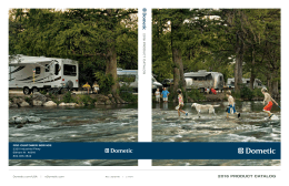 Dometic 2016 RV Product Catalog