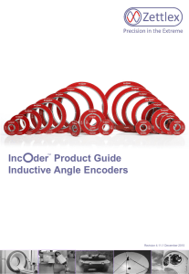 Inductive Encoder Product Guide