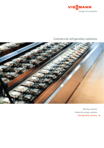 Commercial refrigeration solutions