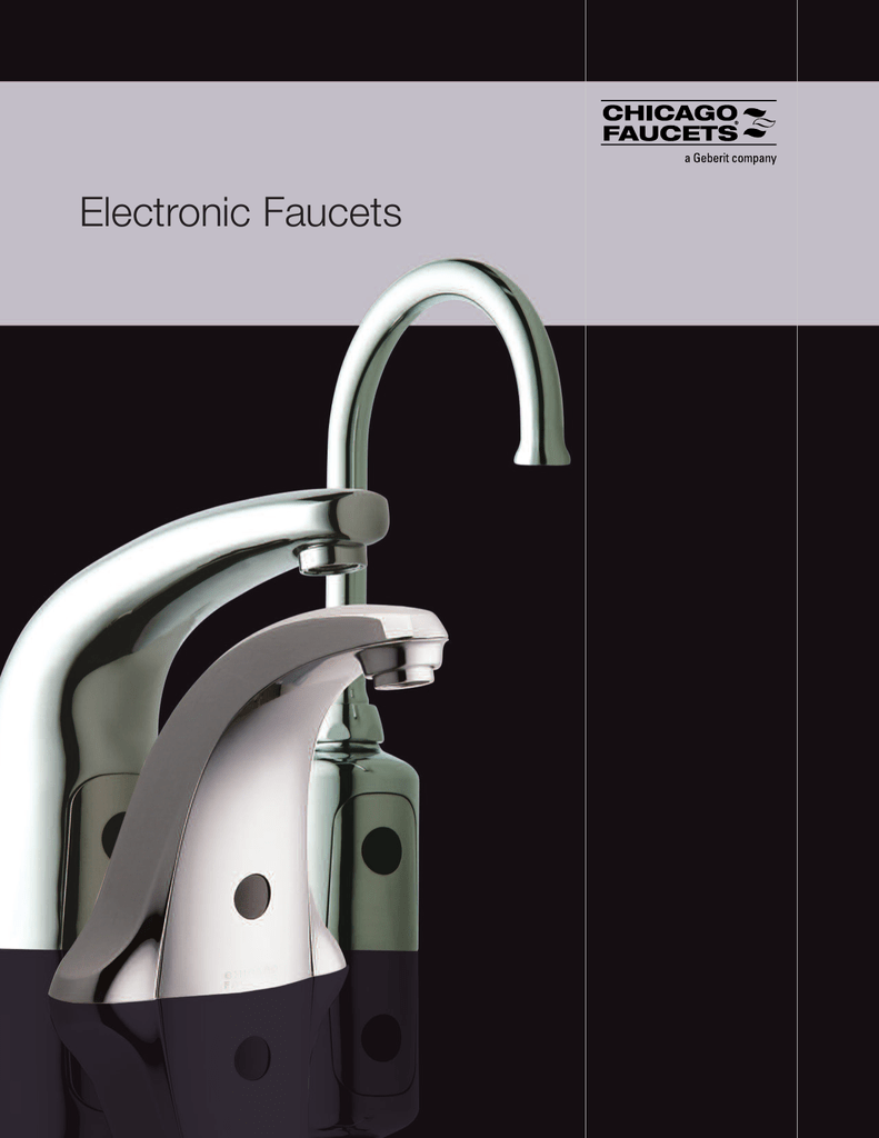 Electronic Faucets Brochure