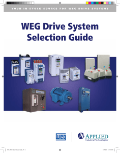 WEG Drive System Selection Guide