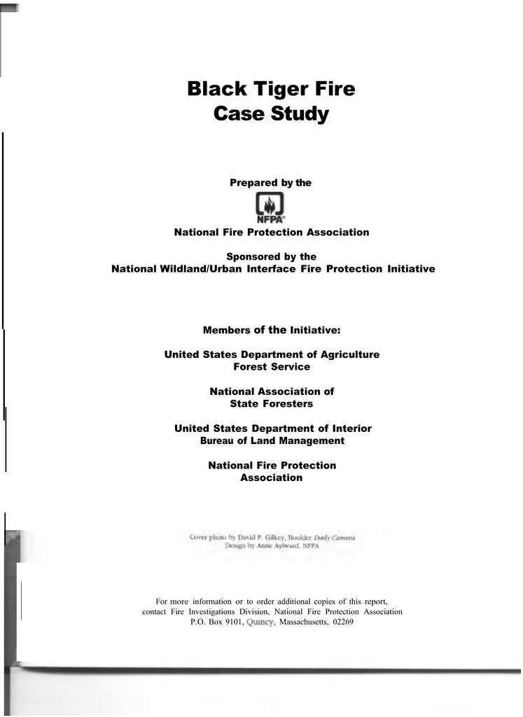 case studies in fire safety pdf