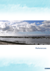References, Glossary and Index - Pacific Climate Change Science
