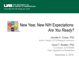 New Year, New NIH Expectations: Are You Ready?