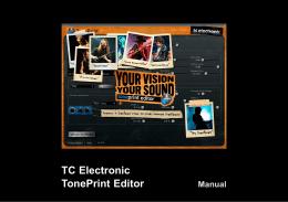 Multiple TonePrint pedals