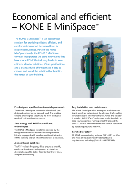 kone marketing plan for monospace Architectural planning datasheets for the kone transitmaster 140 escalator   that help you maintain your building's status as a prime property within your  market  options and shaft dimensions for kone monospace 500, an eco- efficient.