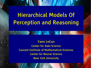 Hierarchical Models Of Perception and Reasoning