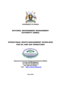 NATIONAL ENVIRONMENT MANAGEMENT AUTHORITY (NEMA