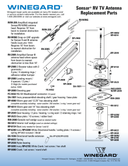 winegard rv antenna wiring diagram guide for using directv swm technology     guide for using directv swm technology