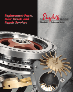 Replacement Parts, New Turrets and Repair Services Replacement