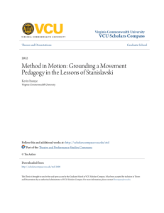 Method in Motion: Grounding a Movement