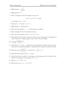 Practice midterm 2 problems (Karp, 2)