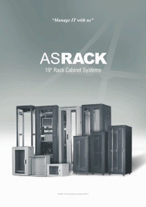 "19"" Rack Cabinet Systems"