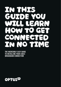 in this guide you will learn how to get connected in no time